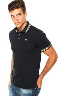 c6c0cc514 Camisa Pólo Azul Marinho Triton masculina | Shoes4you