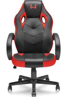 Cadeira Gamer Vermelho Warrior - Ga162 - Padrão