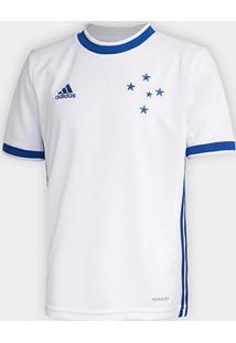 Camisa Cruzeiro Infantil Ii 20/21 S/Nº Torcedor Adidas - Masculino
