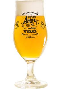 Taça Bier J&M Os Anjos Cantam 385Ml