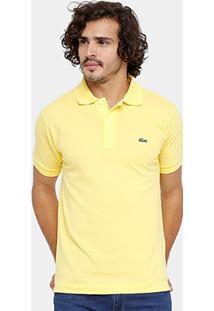 3d3282dceeb7d Camisa Polo Lacoste Piquet Original Fit Masculina - Masculino