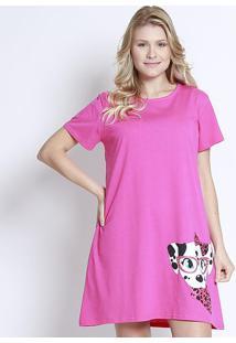 Camisola Dálmata - Pink & Brancapuket