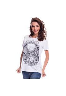 Camiseta Jazz Brasil Caveira Espada Branco