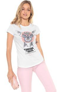 Camiseta Lez A Lez Lucha Libre Branca
