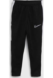 Calça Nike Infantil Logo Preta