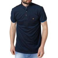 c725301209 Home Roupas Masculinas Camisas Pólo Moderna. Polo Manga Curta Masculina Azul