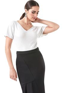 T-Shirt Richini Malha Branco