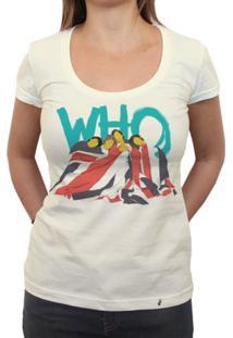 Who - Camiseta Clássica Feminina