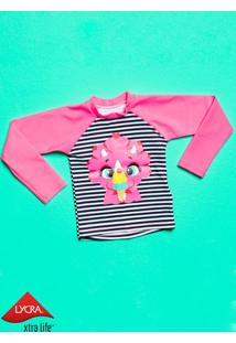 Camiseta Manga Longa Dina Baby