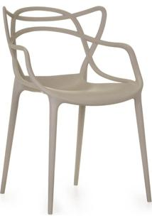 Cadeira Allegra Em Polipropileno Na Cor Nude