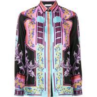 1a3c696c6baa5 Camisa Preta Versace feminina