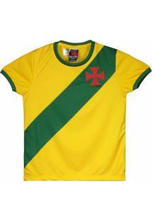 8a39af765 Camisa Brasil Vasco Da Gama Infantil - Masculino