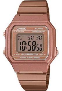Relógio Casio Feminino Vintage B650Wc 5Adf Rose Digital