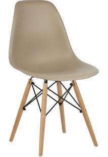 Cadeira Marrom Nude Charles Eames Wood Dsw Em Pp