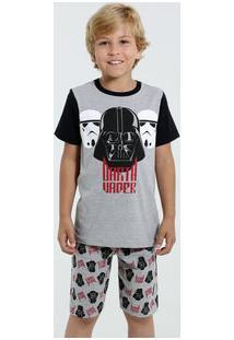 Pijama Infantil Darth Vader Star Wars Disney