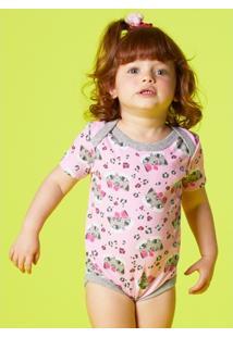 Body Infantil Puket Oncinha - Feminino