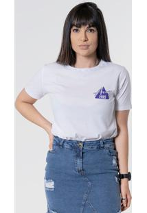 T-Shirt Aero Jeans Triang 1985 Branca