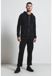 Casaco Moleton Armadillo Soft Masculino - Masculino-Preto