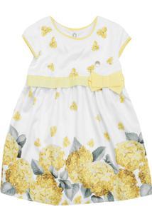 Vestido Milon Floral Amarelo