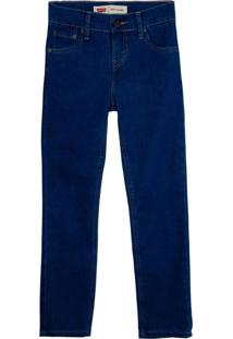 Calça Jeans Levis 510 Skinny Infantil - 20002 Azul