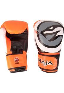 Luva De Boxe / Muay Thai Naja Colors Flúor 14Oz - Unissex