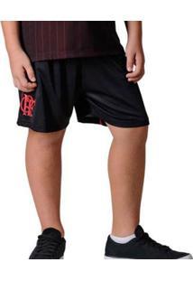 Bermuda Flamengo Infantil Caps Braziline - Masculino