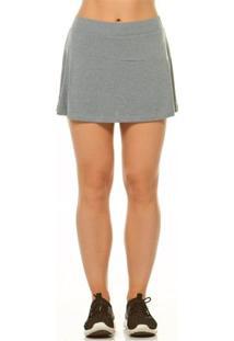 Shorts Saia Alto Giro Basic - Feminino