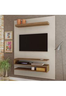 Painel Para Tv Até 47 Polegadas Orion Off White/Pinho - Artely