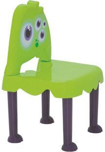 Cadeira Monster- Verde & Preta- 33,5X12,5X33Cm- Tramontina
