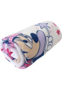 Cobertores E Mantas Minasrey Minnie Branco