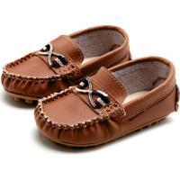 26ba366d1 Mocassim Para Meninos Caramelo Ilhos infantil | Shoes4you