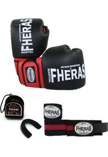 Kit Fheras - Luva Bandagem Bucal - Unissex