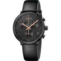 d5331b3dbd6 Kanui. Relógio Calvin Klein K8M274Cb Preto