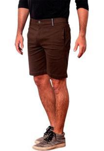 Bermuda Mug Masculino - Masculino-Marrom