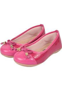 870c02463c Sapatilha Infantil Romântica Calçados Pink Vermelho