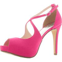 48e03f94f Peep Toe Branco Festa feminino | Shoes4you