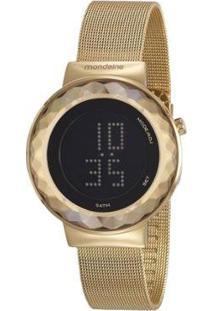 Relógio Mondaine Digital 42Mm Aço Feminino - Feminino