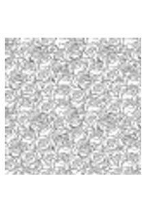 Papel De Parede Adesivo - Rosinhas Brancas - 014Ppf
