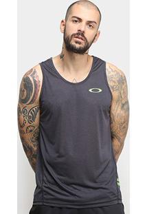 Camiseta Regata Oakley Dynamic Masculina - Masculino-Preto