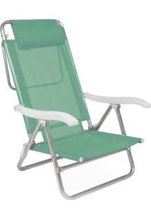 Cadeira Reclinável Sol De Verão Com Almofada Anis - Unissex