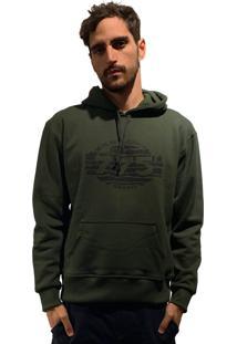 Casaco Moletom 775 - Verde Militar