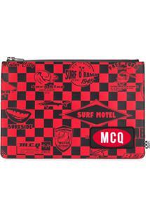 Mcq Alexander Mcqueen Clutch 'Surf Motel' - Vermelho