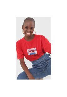 Camiseta Cantão Box Lado B Vermelha