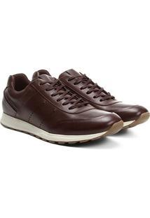 39ca493131 Tênis Couro Shoestock Jogging Perfuros Masculino - Masculino