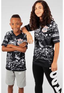 Camisa Nike Corinthians Iii Invasões Torcedor Pro Infantil