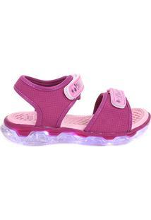 Sandália Infantil Klin Papete Light Menina - Feminino-Pink