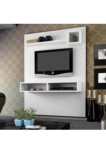 Painel Para Tv Até 55 Polegadas Sonata 1377 Branco Fosco - Knr Móveis