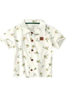 Camisa Branco Avocado Menino