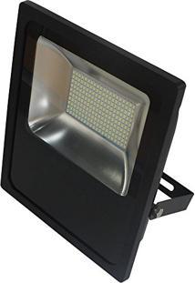 Refletor Led Slim 100W Luz Branca 6.000Kbivolt-Blumenau-74100600