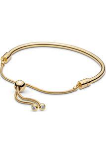 Bracelete Rígido Pandora Shine™ Crie & Combine Cordão Pandora